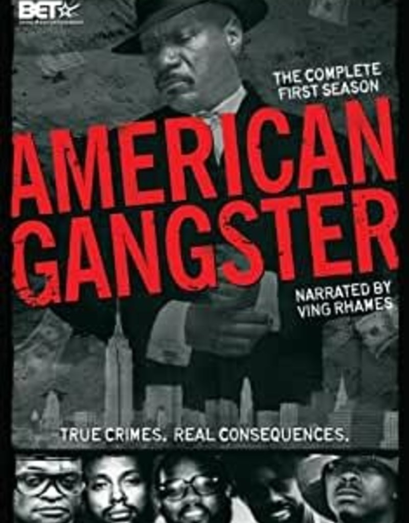 Used DVD Amercian Ganster Complete First Season