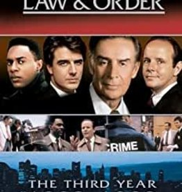 Used DVD Law & Order The Third Year