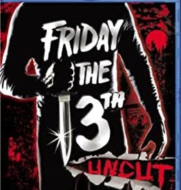 Used BluRay Friday The 13th Uncut