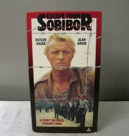 Used VHS Escape From Sobibor