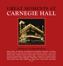 Various- Great Moments At Carnegie Hall (43xCD)(Sealed)