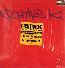 Used Vinyl Positive K- The Skills Dat Pay Da Bills (1st Press)