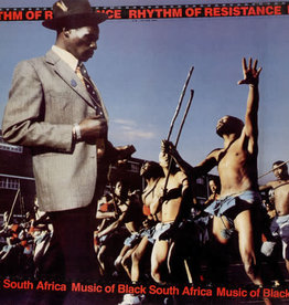 Used Vinyl Various- Rhythm Of Resistance: Music Of Black South Africa
