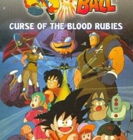Used VHS Dragon Ball: Curse Of The Blood Rubies