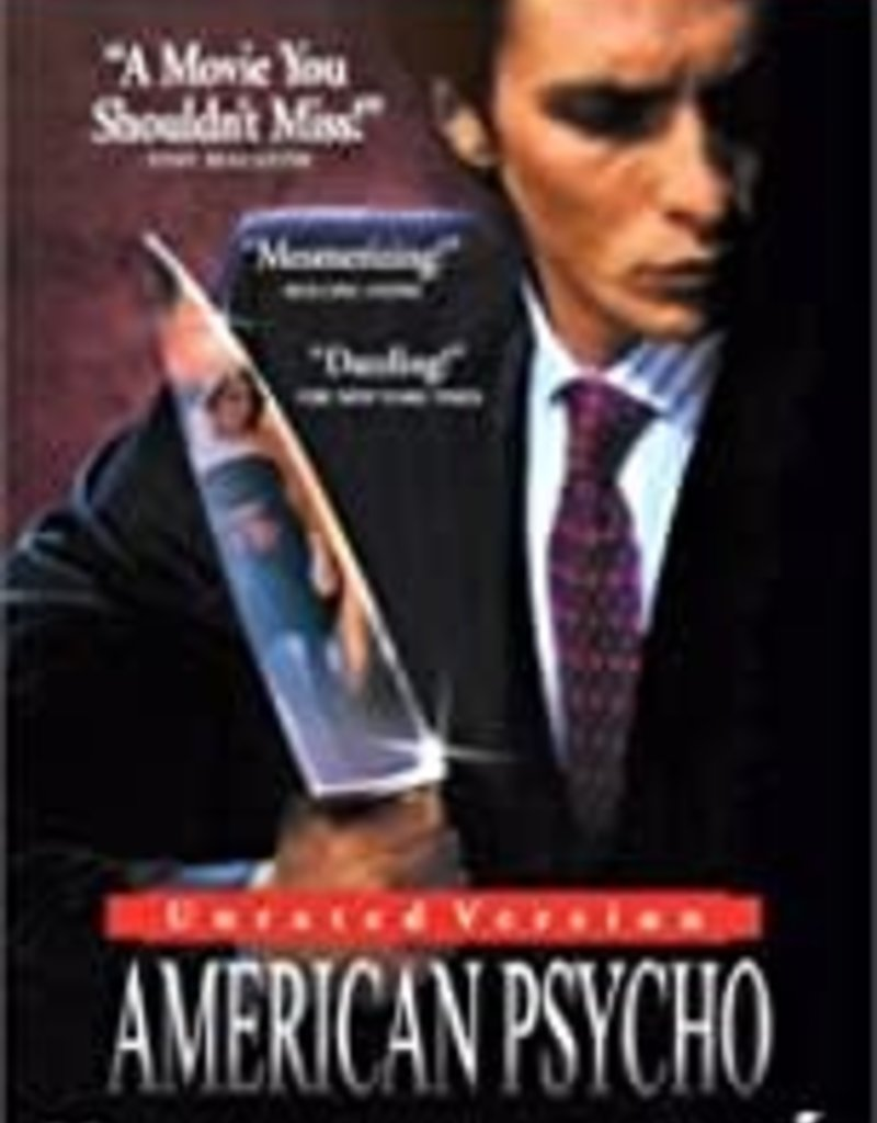 Used DVD American Psycho