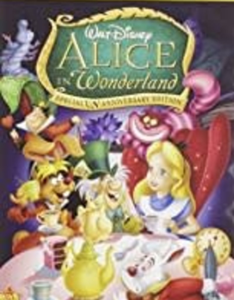 Used DVD Alice In Wonderland (Animated)