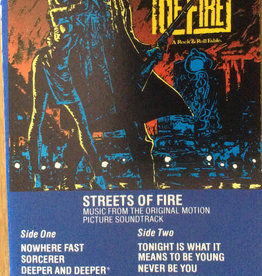 Used Cassettes Streets Of Fire Soundtrack
