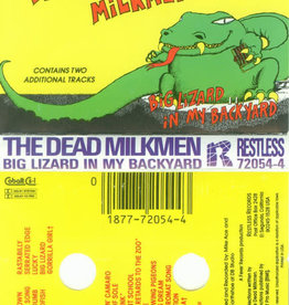 Used Cassettes Dead Milkmen- Big Lizard In My Backyard