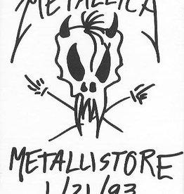 Used Cassettes Metallica- Metallistore 1/21/93 (Promo)