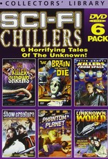 Used DVD Alpha Video Sci-Fi Chillers 6 Pack