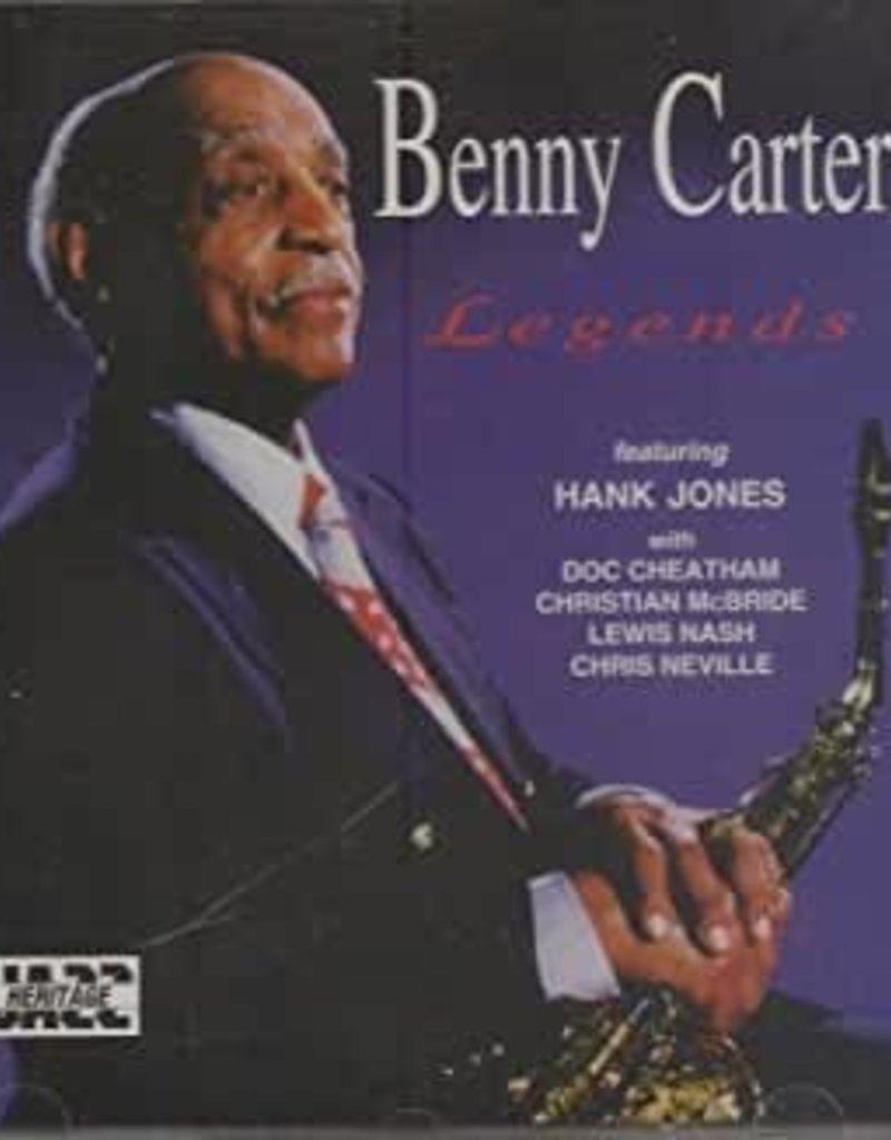 Used CD Benny Carter- Legends