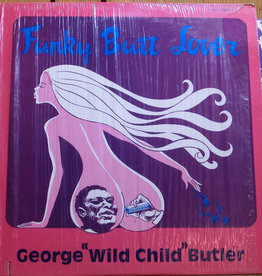 "Used Vinyl George ""Wild Child"" Butler- Funky Butt Lover (Sealed)"