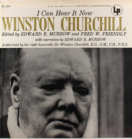 Used Vinyl Winston Churchill/Edward R Murrow- I Can Hear It Now