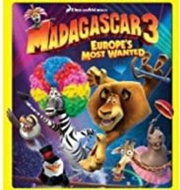 Used BluRay Madagascar 3