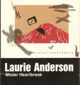 Used Cassette Laurie Anderson- Mister Heartbreak