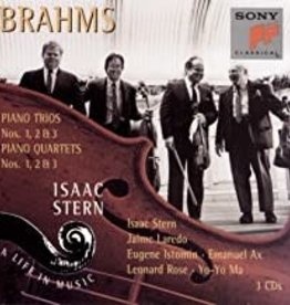 Used CD Brahms- Piano Trios & Piano Quartets