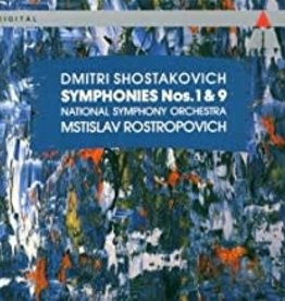 Used CD Shostakovich- Symphonies Nos. 1 & 9