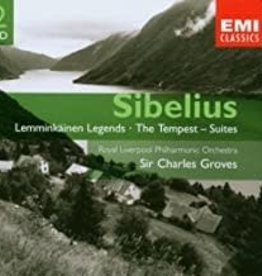 Used CD Sibelius- Lemminkainen, Tempest, Etc.