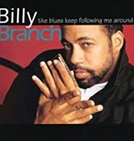 Used CD Billy Branch- The Blues Keep Following Me Around