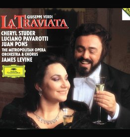 Used CD Verdi- La Traviata (Luciano Pavarotti) (James Levine, Conductor)
