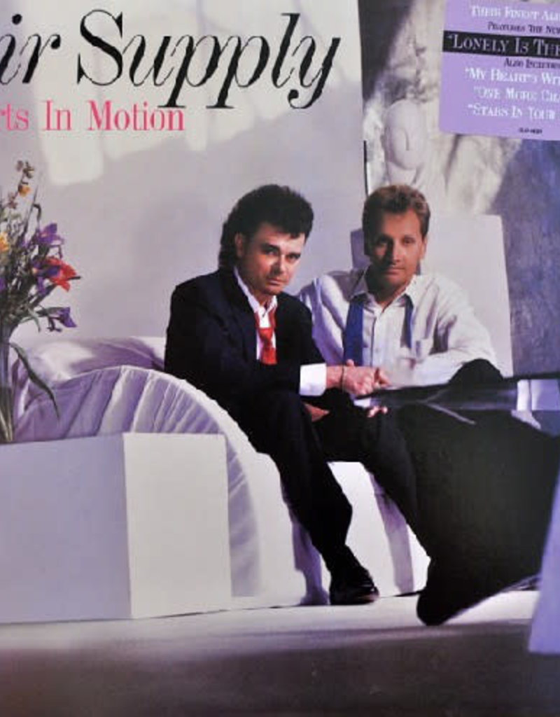 Used Vinyl Air Supply- Hearts in Motion
