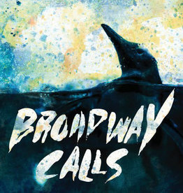 Used Vinyl Broadway Calls- Comfort/Distraction (Grey/Blue Opaque)