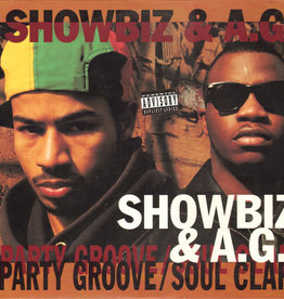 "Used Vinyl Showbiz & AG- Party Groove/ Soul Clap (12"")"