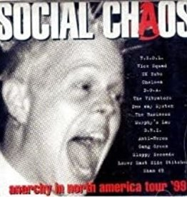 Used CD Various- Social Chaos Anarchy In North America Tour '99