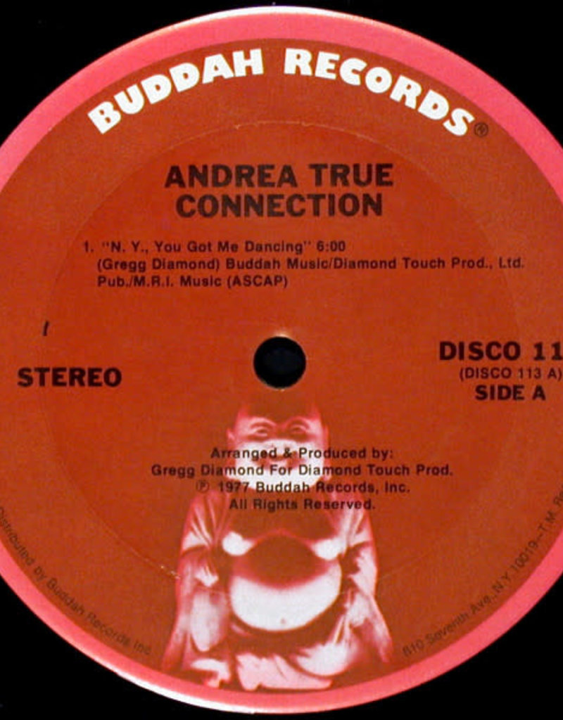 """Used Vinyl Andrea True Connection- NY, You Got Me Dancing (12"""")"""