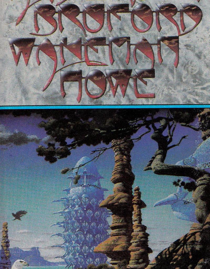 Used Cassette Anderson Bruford Wakeman Howe- Anderson Bruford Wakeman Howe