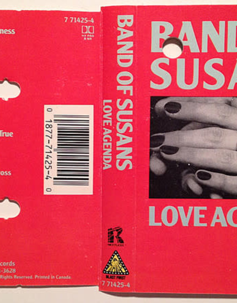 Used Cassette Band Of Susans- Love Agenda
