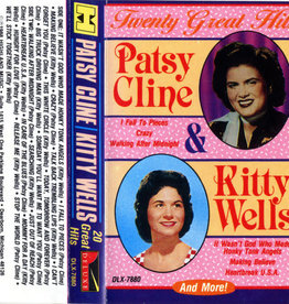 Used Cassette Patsy Cline/Kitty Wells- 20 Great Hits