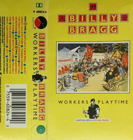 Used Cassette Billy Bragg- Workers Playtime