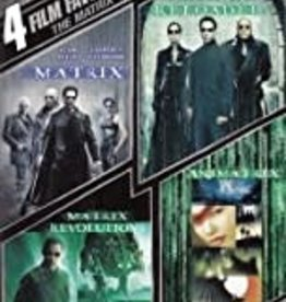 Used DVD The Matrix Collection