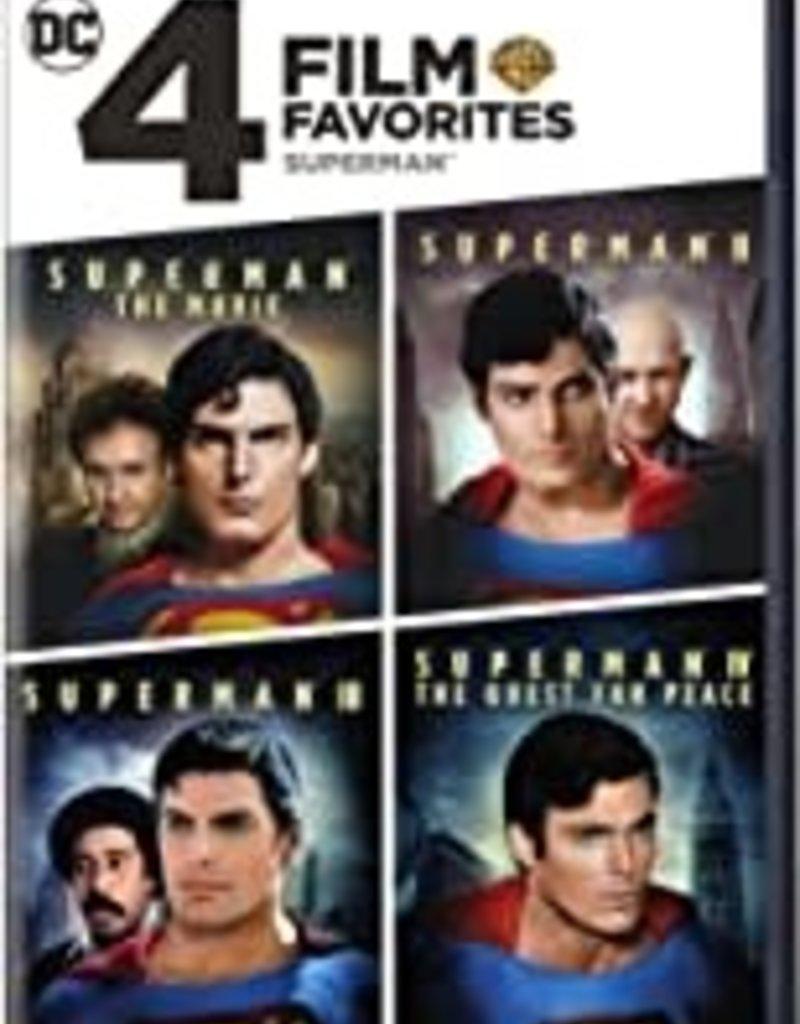 Used DVD 4 Film Favorites: Superman/Superman II, Superman III, Superman IV