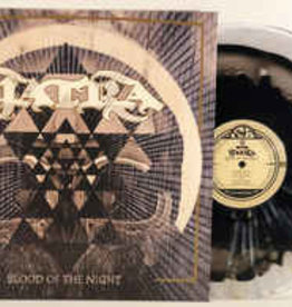 Used Vinyl Yatra- Blood Of The Night (Numbered /100)(Black Inside Clear w/Splatter)