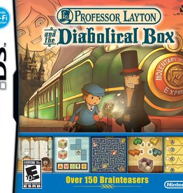 Nintendo DS Professor Layton and The Diabolical Box