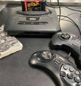 Sega Genesis Sega Genesis Model 2 Console (w/6-Pak Game + 2 Controllers)