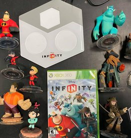 XBox 360 Disney Infinity Darkside Records Starter Pack (Game/Base/9 Figures/2 Play Discs)