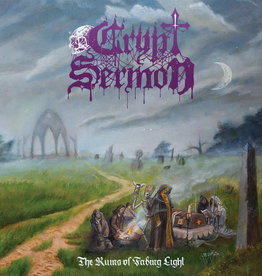 Used Vinyl Crypt Sermon- The Ruins Of Fading Light (Silver/Purple)
