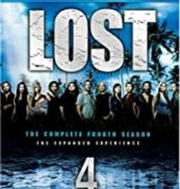 Used BluRay Lost Complete Fourth Season
