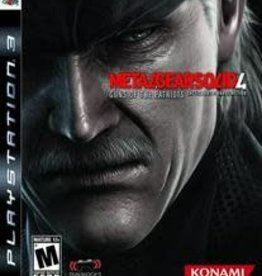 PS3 Metal Gear Solid 4 Guns of the Patriots