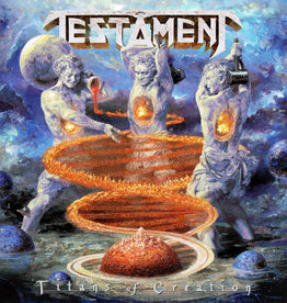 Used Vinyl Testament- Titans Of Creation (Blue)