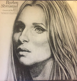 Used Vinyl Barbra Streisand- Live Concert At The Forum