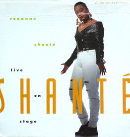 "Used Vinyl Roxanne Shante- Live On Stage (12"")"