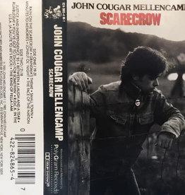 Used Cassette John Cougar Mellencamp- Scarecrow