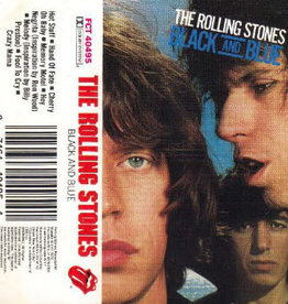 Used Cassette Rolling Stones- Black And Blue