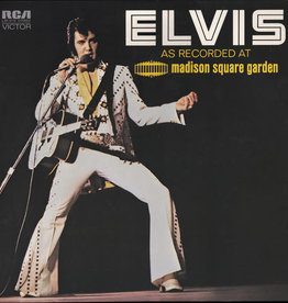Used Vinyl Elvis Presley- As Recorded At Madison Square Garden