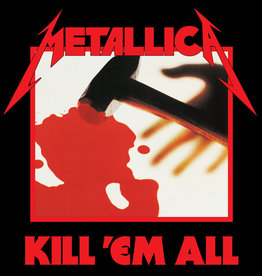 Used Vinyl Metallica- Kill Em All (1988 Reissue)