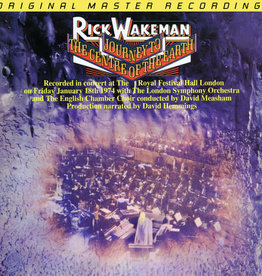 Used Vinyl Rick Wakeman- Journey To The Centre Of The Earth (MoFi)(1995 Anadisq 200g)(Numbered)